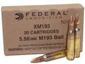 FEDERAL AMMUNITION Ammunition XM193